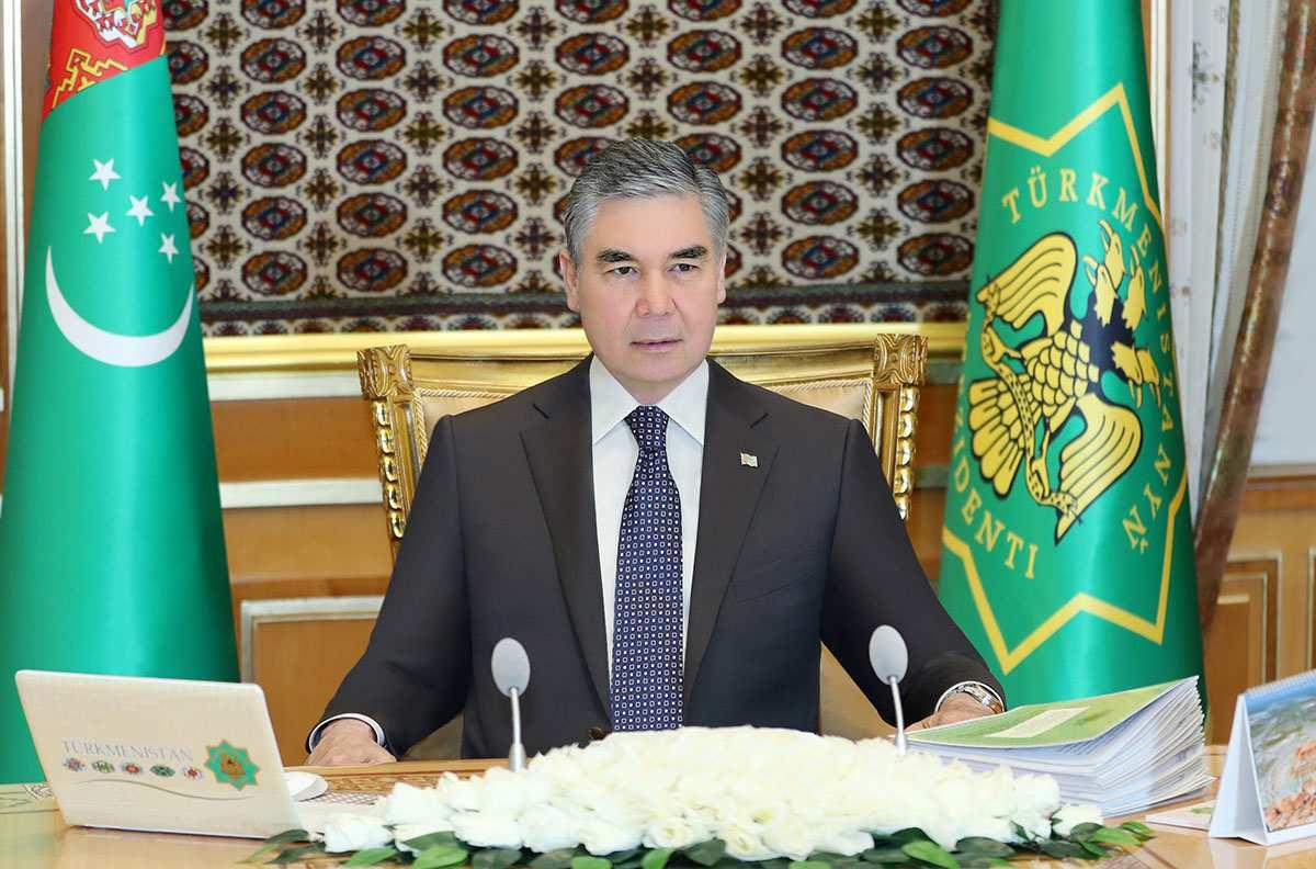 Заседание Государственного совета безопасности Туркменистана